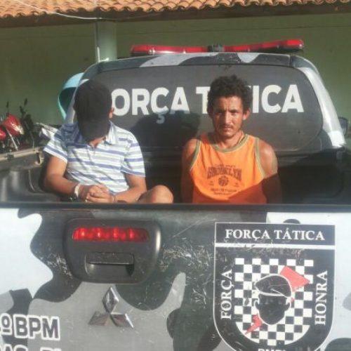 Força Tática de Fronteiras realiza a prisão e apreensão de suspeitos de latrocínio em Pio IX