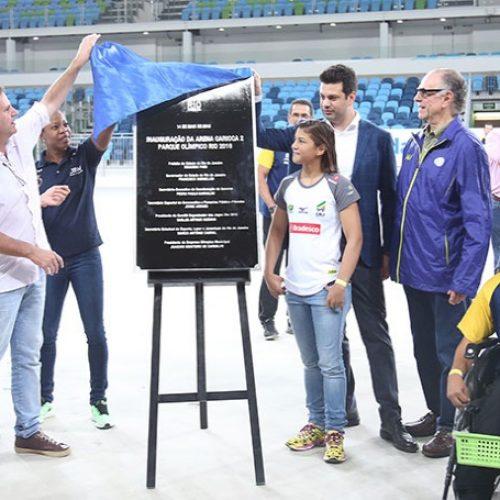Piauiense Sarah Menezes inaugura arena onde irá lutar em Rio 2016
