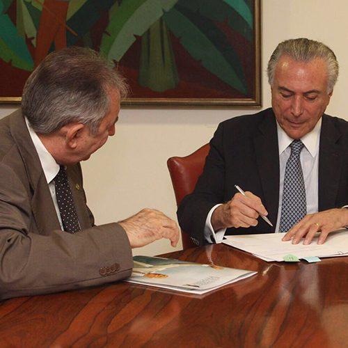 João Henrique é nomeado por Temer para presidência do Sesi