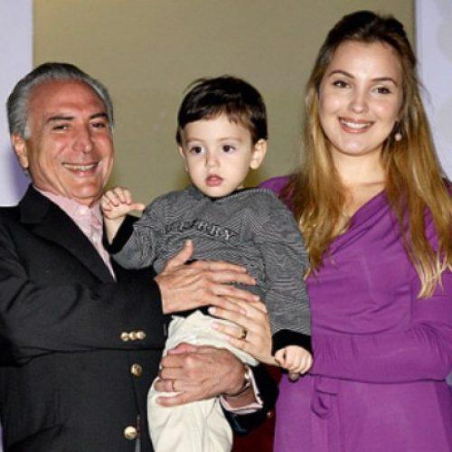Aos 7 anos, filho de Temer tem R$ 2 milhões em imóveis