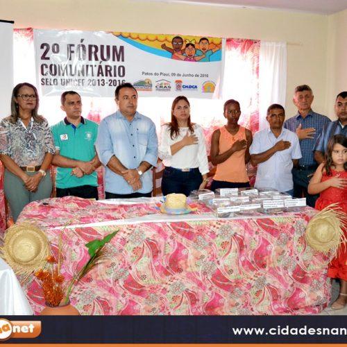 Em busca do Selo Unicef, Patos do Piauí realiza Fórum Comunitário