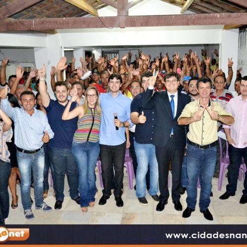 Pré-candidato a prefeito reúne correligionários em Padre Marcos para discutir sobre as eleições