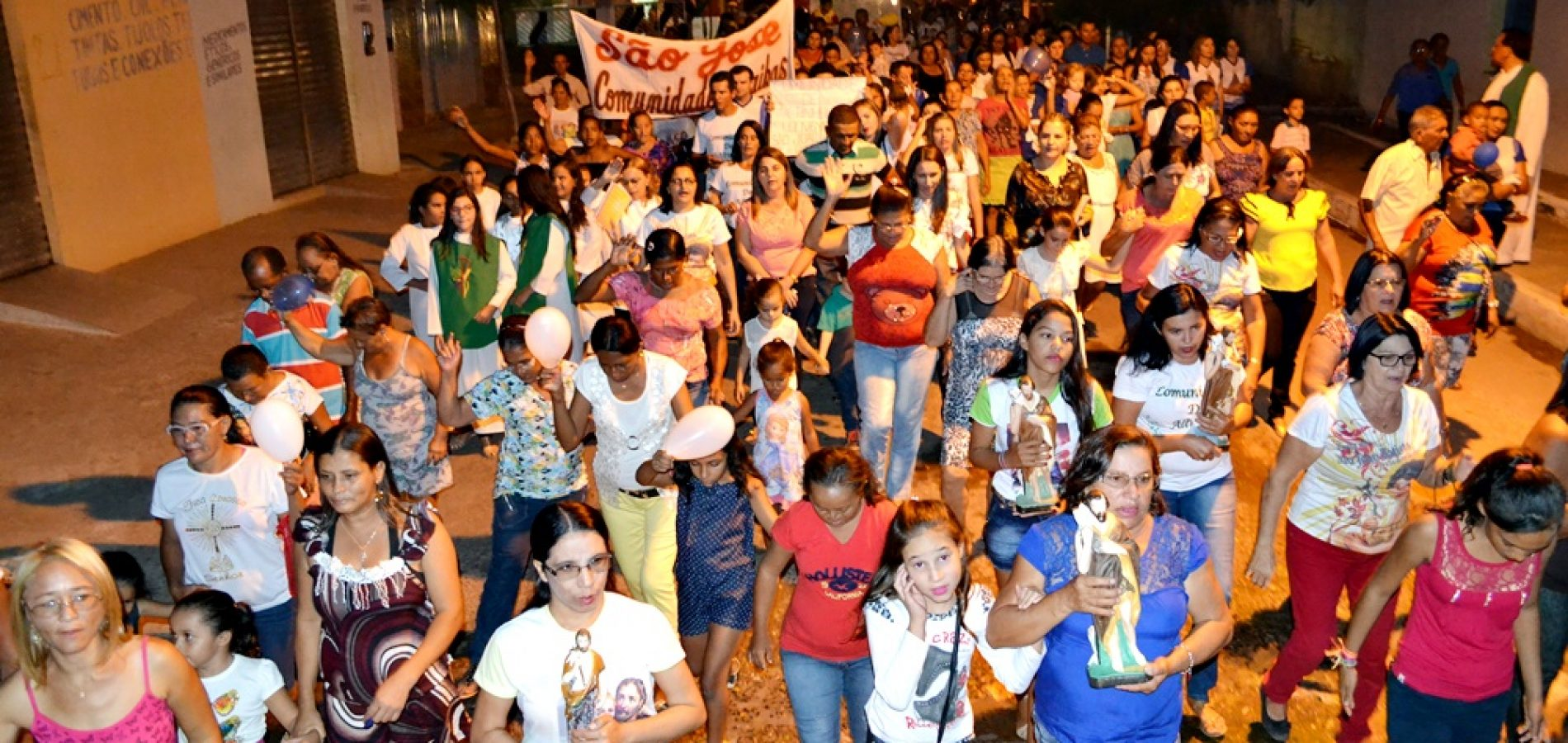 MASSAPÊ   Caminhada e missa abrem o 37º festejo de São João Batista; veja fotos
