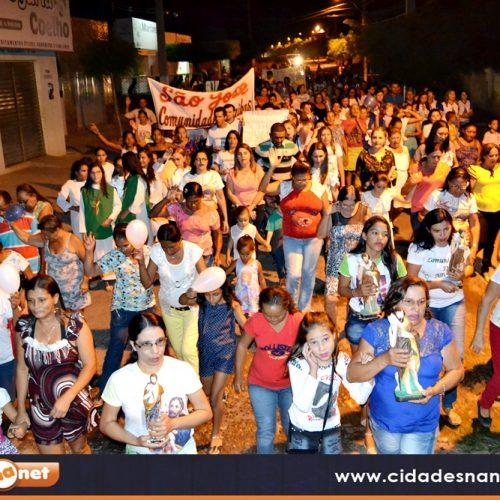 MASSAPÊ | Caminhada e missa abrem o 37º festejo de São João Batista; veja fotos