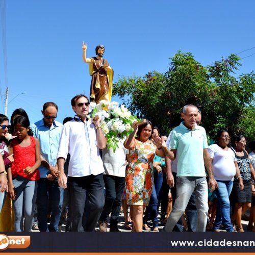 Massapê do Piauí celebra o dia de São João Batista com missa e procissão; veja fotos