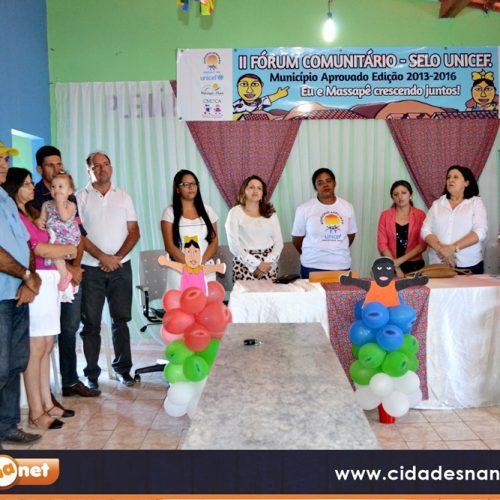 Rumo ao Selo Unicef, Massapê realiza II Fórum Comunitário; fotos