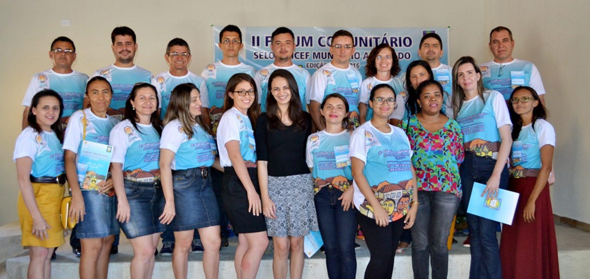 Belém do Piauí realiza II Fórum Comunitário em busca do Selo Unicef
