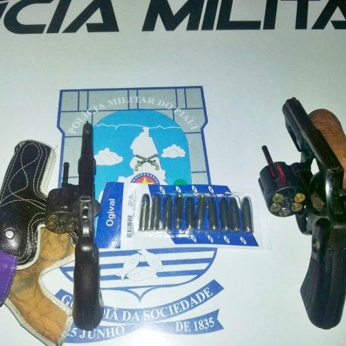 Polícia Militar intensifica ações e dois são presos armados em Padre Marcos