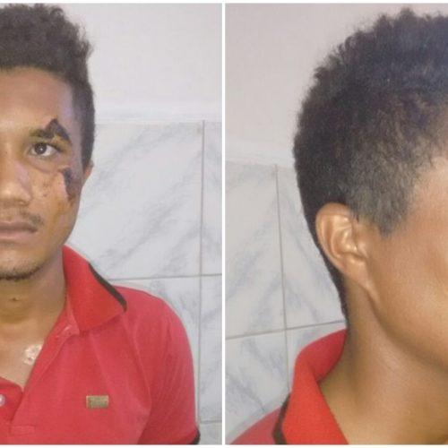 Acusado de tentar assassinar adolescente a facadas é preso em Simões