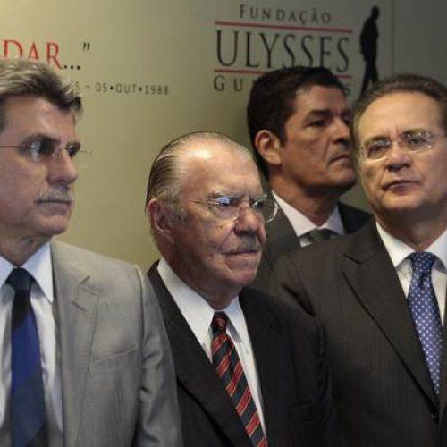 Janot pede inquérito contra Renan, Sarney e Jucá