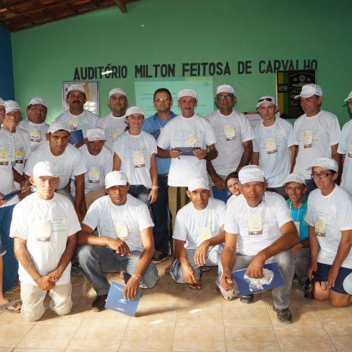 Emater conclui projeto do Programa Viva o Semiárido em Massapê; serão investidos R$ 137 mil, beneficiando 20 famílias