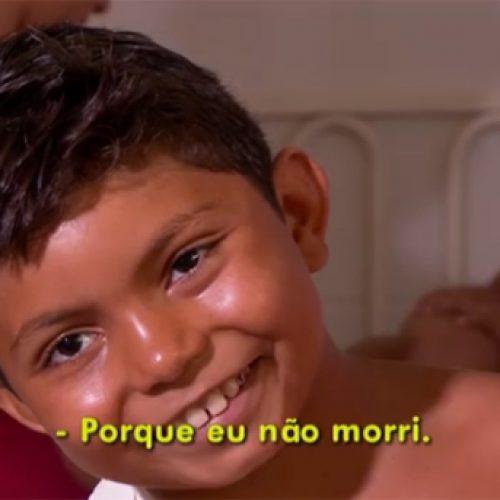 Criança sobrevivente no Piauí é destaque na TV Globo