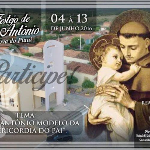 Comunidade Católica de Vila Nova do Piauí-PI celebra de 04 à 13 de junho a 35ª Festa de Santo Antônio