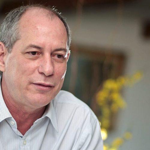 """""""Serei candidato a presidente se Lula não for"""",  diz Ciro Gomes"""