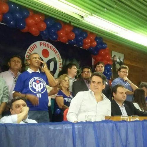 Durante convenção, Ciro diz que PP terá 100 candidatos a prefeito no Piauí
