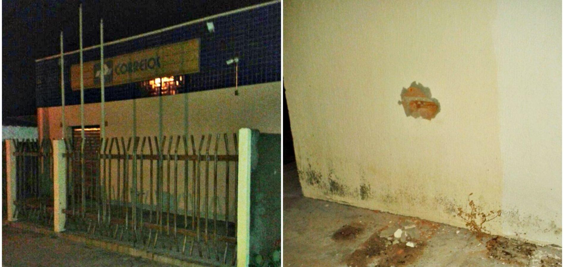 Bandidos tentam arrombar Correios em Patos do Piauí