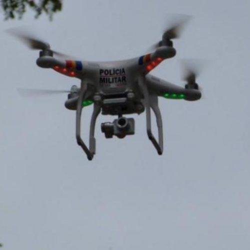Drones flagram suposta plantação de maconha em Picos