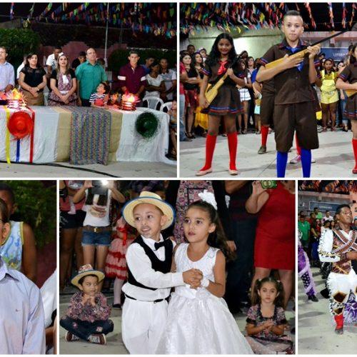 Apresentações culturais abrem o 20º Festival de Quadrilhas em Massapê do Piauí