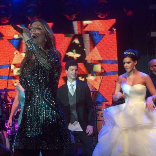 Casamento de filha de picoense tem show surpresa com Ivete Sangalo