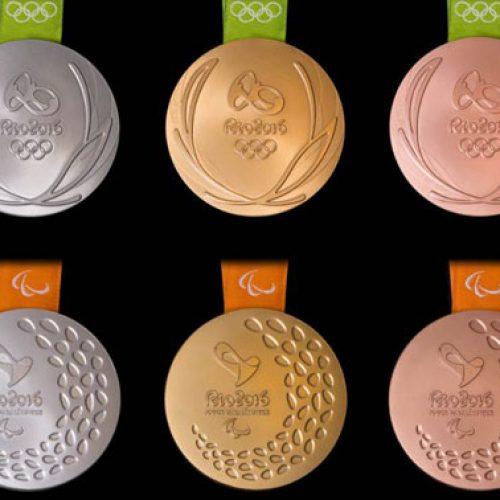 Rio 2016 apresenta medalhas dos Jogos Olímpicos e Paralímpicos. Veja!