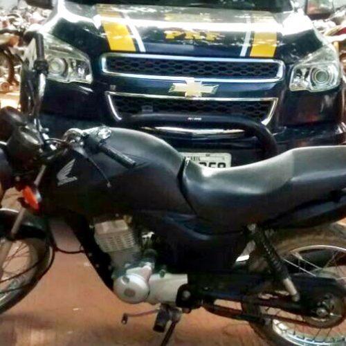 Lavrador troca moto legal em outra roubada e acaba preso no Piauí