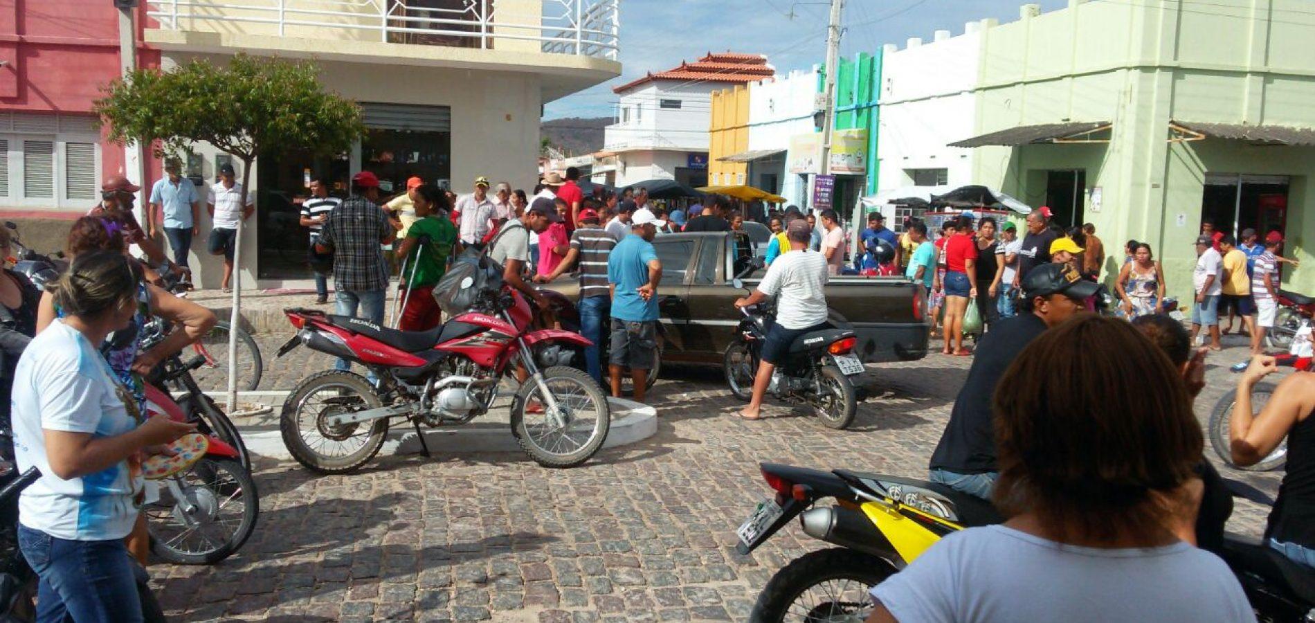 Moto-taxista é morto a tiros no centro da cidade de Fronteiras