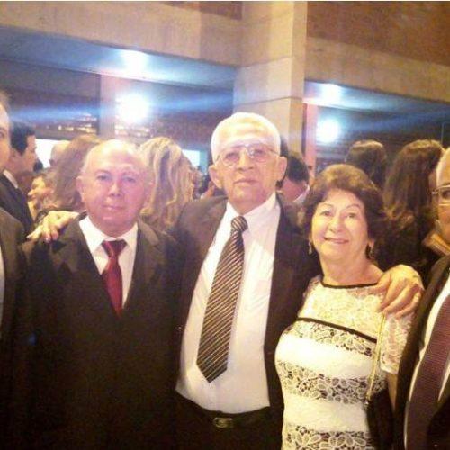 Nelito Silveira e ministro Vicente Leal prestigiam posse do novo presidente do TJ-PI