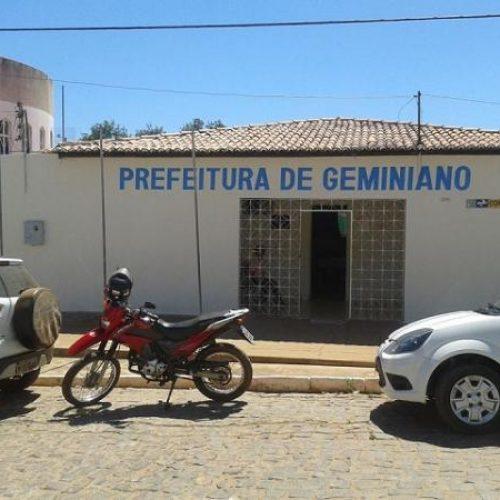 INSS sequestra R$ 135 mil da Prefeitura de Geminiano e conta fica zerada