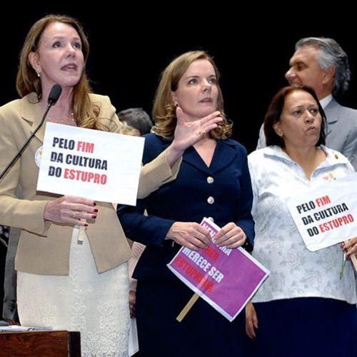 Senado aumenta pena para casos de estupro coletivo