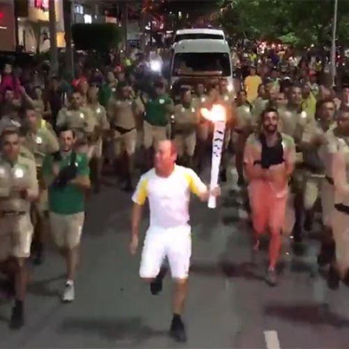 Vídeo da Tocha Olímpica em Caruaru com música de Gonzagão viraliza; assista