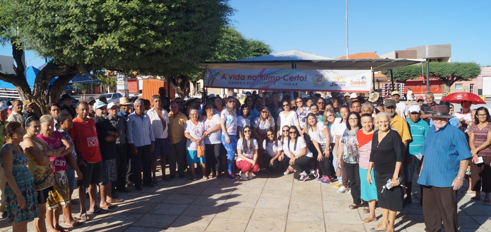 Prefeitura promove grande mobilização em prol da saúde no aniversário de Simões