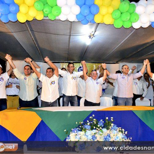 Convenção homologa as candidaturas de Neném de Edite e Branco em Jaicós