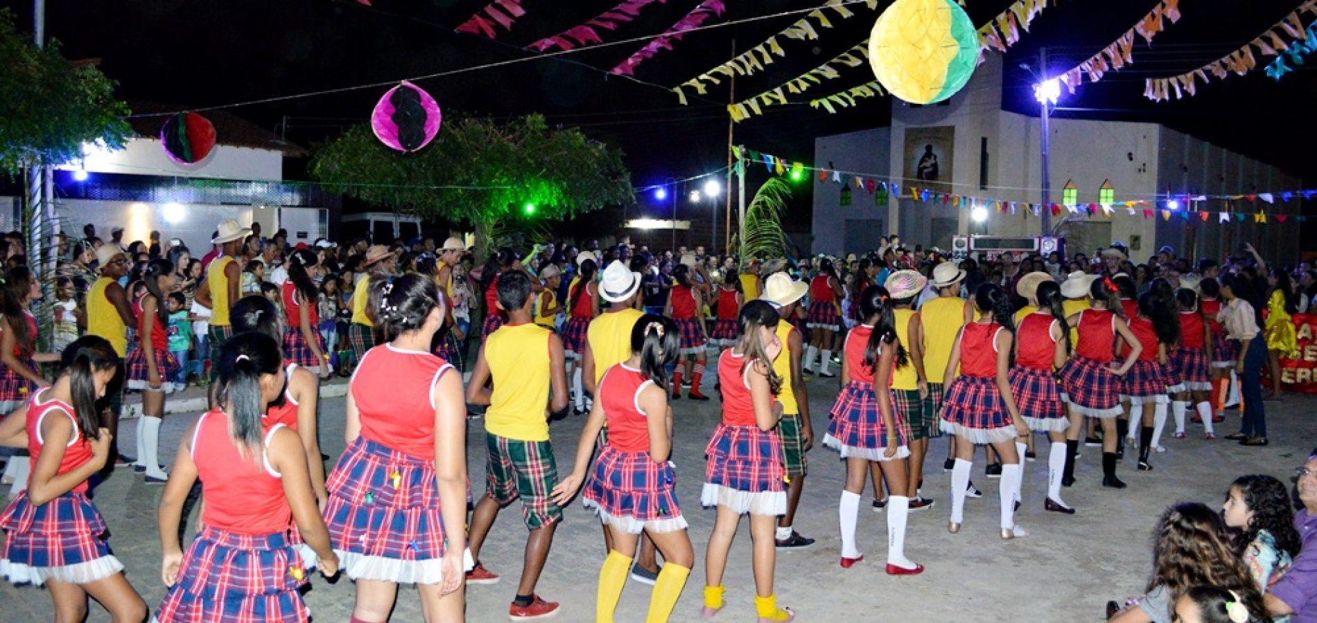 Educação promove a cultura com festas juninas em Campo Grande do Piauí; veja fotos