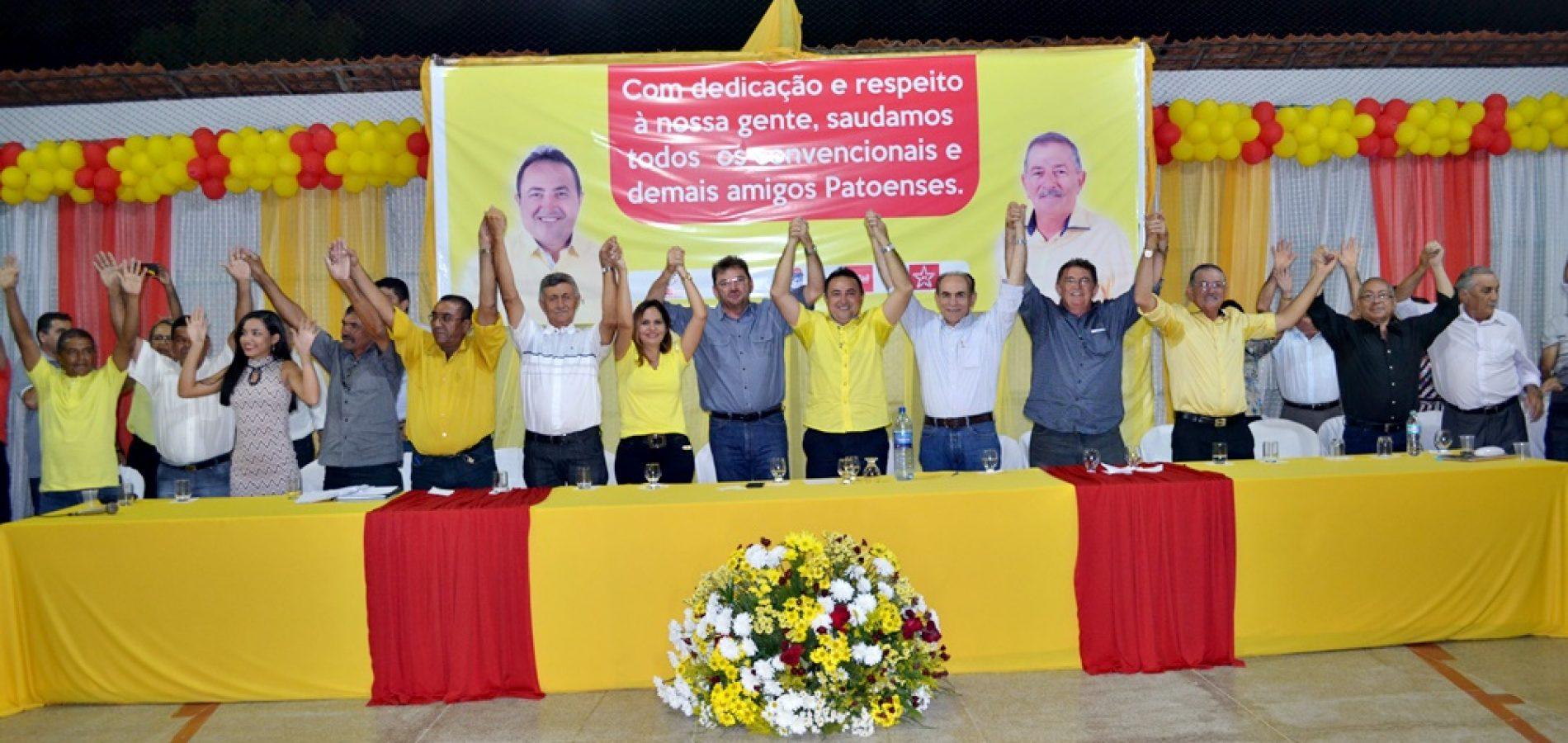 FOTOS | Convenção do PSB e outros 4 partidos em Patos do Piauí