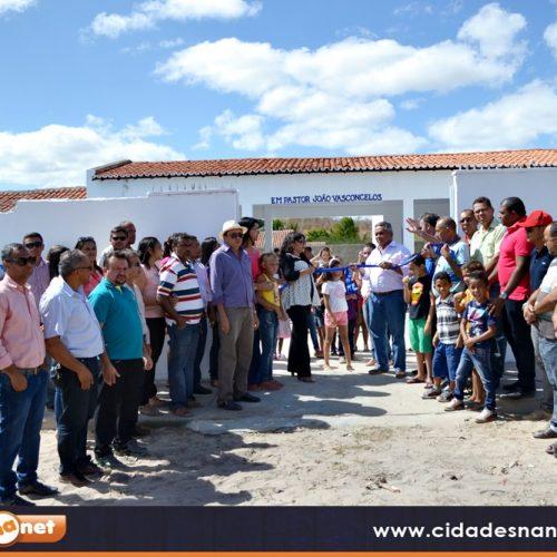 Prefeita Waldelina Crisanto inaugura obras na cidade e no interior de Jaicós; veja fotos