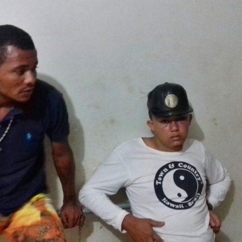 PATOS   Dupla é presa com droga em bar no povoado Cajueiro