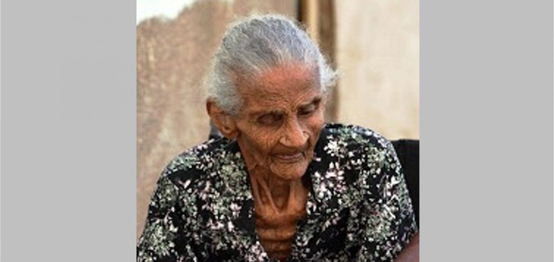 Idosa natural de Jacobina do Piauí morre aos 108 anos