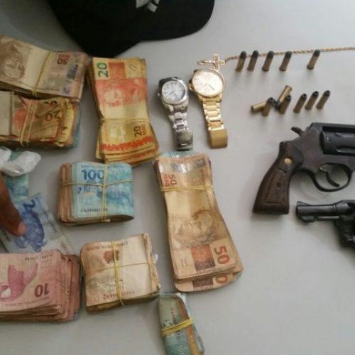 Quadrilha suspeita de assaltar frigorífico é presa com R$ 32 mil no Piauí