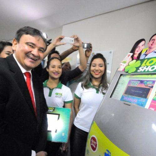 Governador inaugura sede da primeira loteria online do Brasil