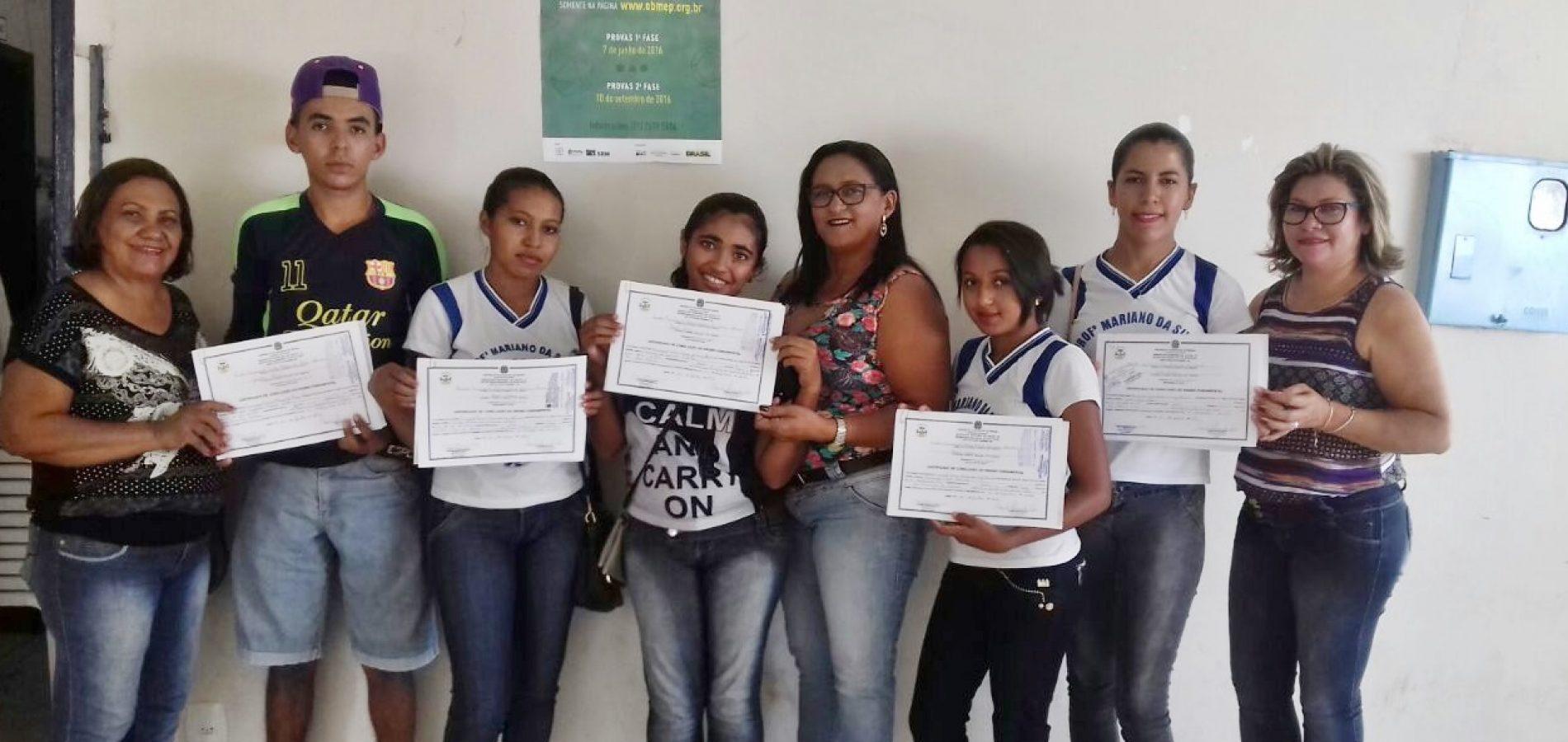 JAICÓS | Conselho Municipal de Educação é criado e alunos da rede municipal são certificados