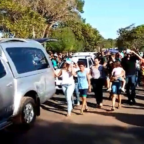 Multidão acompanha cortejo de vice-prefeito e secretário de Santa Filomena do Piauí