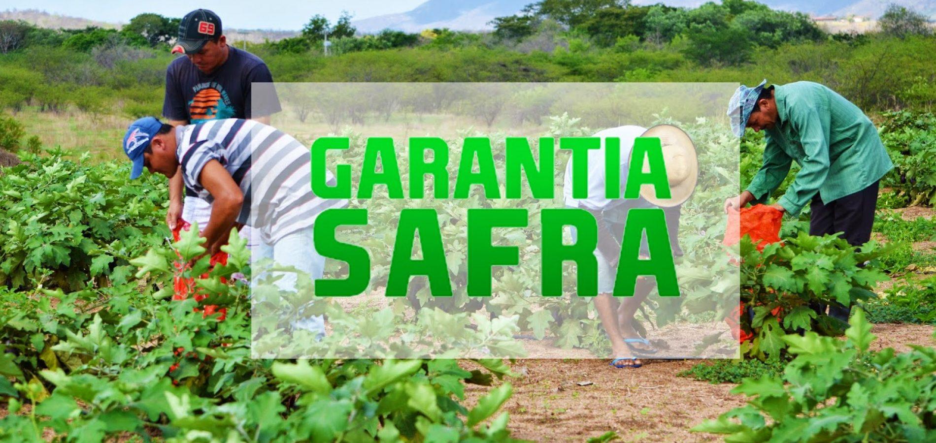 SDR quita Garantia Safra com investimento de R$ 10,2 milhões