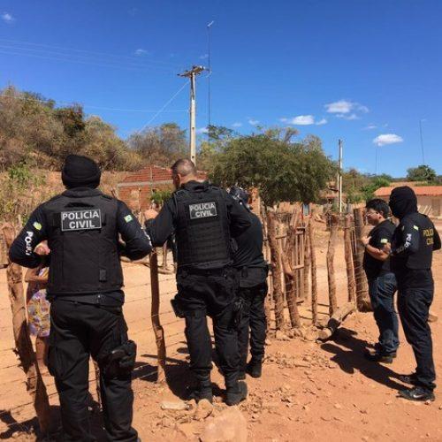 Quatro homens foram presos suspeito de estupro no interior do Piauí