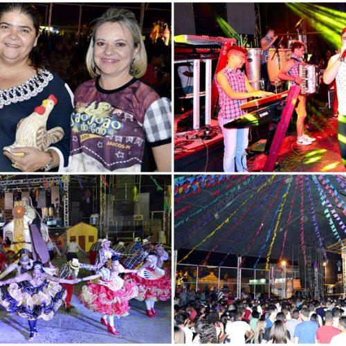 JAICÓS   São João do Galo tem concurso de quadrilha, shows e grande público na abertura; veja fotos