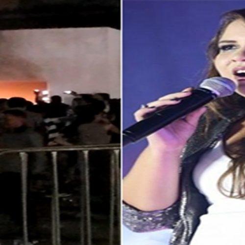 Com suspeita de pneumonia, Marília Mendonça falta a show e público incendeia palco no Piauí