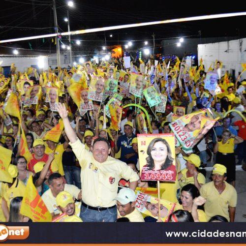 VILA NOVA | Edilson Brito e Antonio Tiago fazem carreata e inauguram comitê eleitoral no Povoado São João Batista
