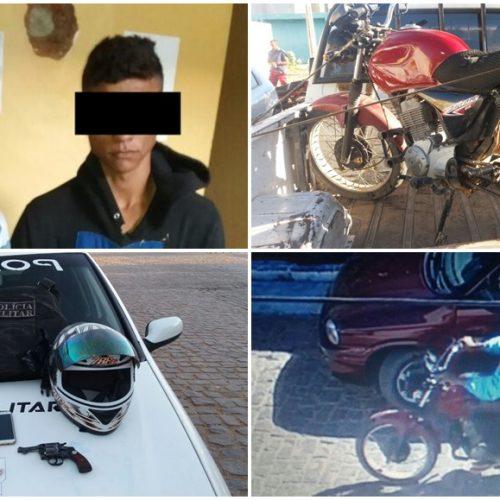 Dupla acusada de assaltar posto de combustíveis em Massapê é presa em Caridade