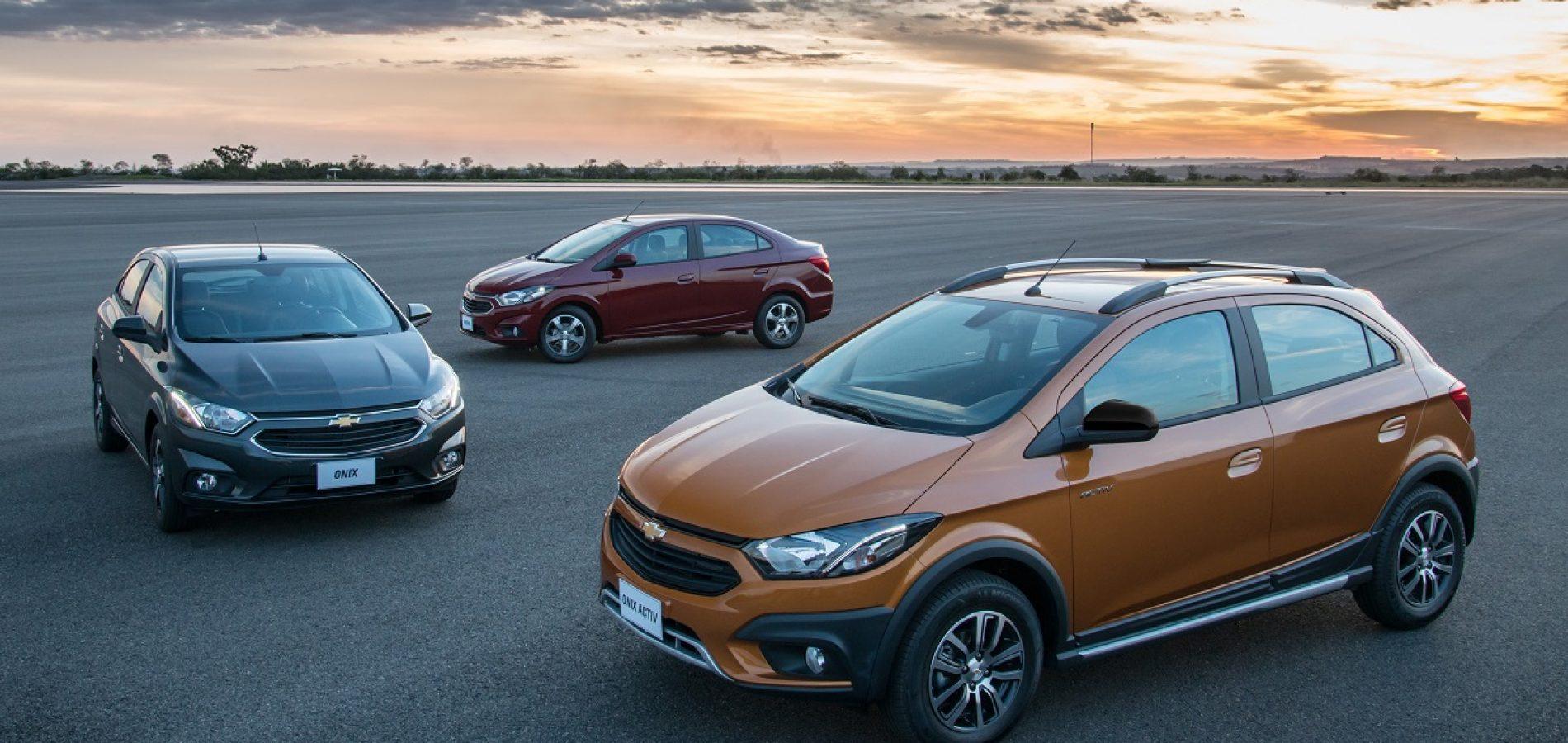 Chevrolet Onix e Prisma estão até 22% mais econômicos e obtêm nota máxima no Inmetro