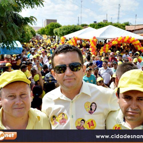 Inauguração de comitê eleitoral marca inicio da campanha de Edilson Brito e Antônio Tiago em Vila Nova