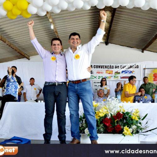 Convenção homologa as candidaturas de Dr. Jonas Alencar e Sodson Rocha em São Julião